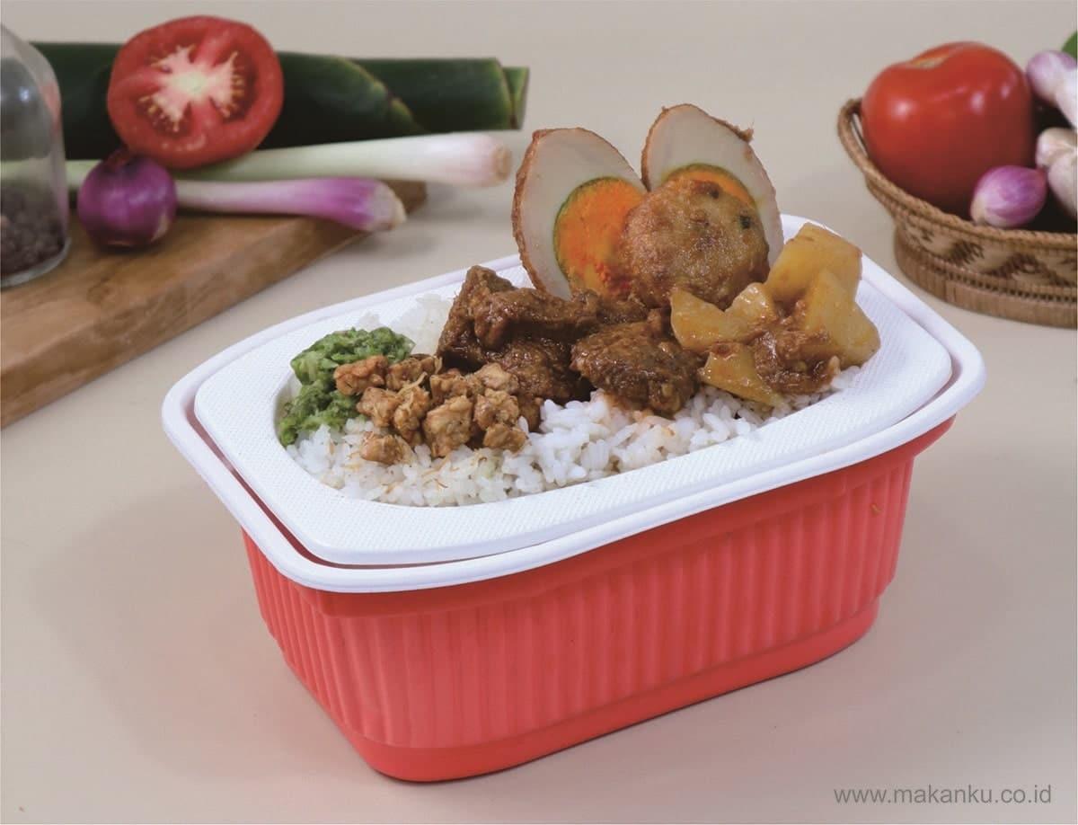 MakanKu Rendang Daging, Rendang Daging Yang Enak, Empuk dan Paling Praktis